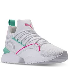 cheap for discount b782d 078a0 Puma Muse Maia Varsity Casual Sneakers, Finish Line, Athletic, Muse, It Is