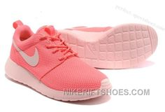 643e4ac9fa Nike Roshe Run Womens Shoes For Sale Breathable For Summer Pink Cheap