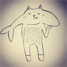 кот рыба