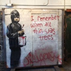Banksy Graffiti Art from Packard Plant, 555 Studios, Detroit, Michigan Street Art Banksy, Banksy Graffiti, Graffiti Wall Art, Bansky, Eminem, Stencilling Techniques, Detroit Art, Detroit Michigan, Street Artists