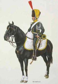Lanciers - Cie élite- 1808