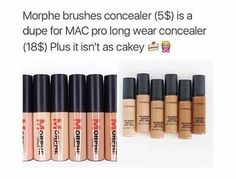 #dupe #Morphe #Mac #concealer