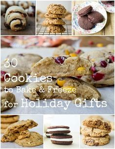 How to Bake and Freeze Cookies for Holiday Gifts (and 30 recipes that are perfect for that)