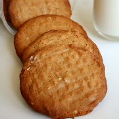 Nothing beats out Peanut Butter cookies - simple, quick and deliciously crunchy