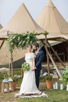 A Scandinavian Spring Styled Shoot by World Inspired Tents & Blue Fizz Events Scandinavian Wedding, Swedish Wedding, Outdoor Wedding Decorations, Ceremony Decorations, Wedding Fair, Wedding Shoot, Chic Vintage Brides, White Candles, Wedding Rehearsal