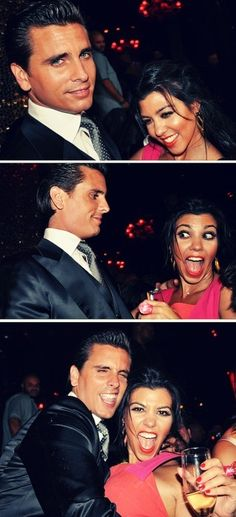 kourtney kardashian and scott disick. I love him and her both so much! ❤