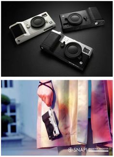 So many of us use our iPhones instead of investing in expensive cameras nowadays, so why not make your phone look like one?