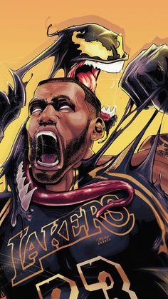 Lebron James as Venom wallpaper King Lebron James, Lebron James Lakers, King James, Lebron James Wallpapers, Nba Wallpapers, Mvp Basketball, Basketball Legends, Basketball Shooting, Basketball Leagues