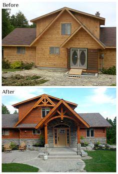 14 best transformations images cabin design cottage design rh pinterest com
