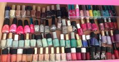 Organized polish!
