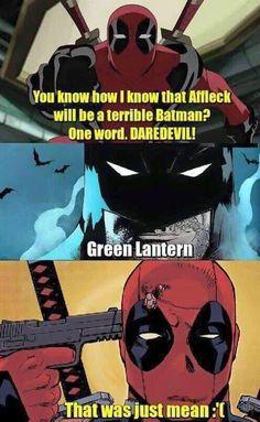 The Most Savage Deadpool vs Batman Memes - Batman Funny - Funny Batman Meme - - Deadpool-Batman-Memes The post The Most Savage Deadpool vs Batman Memes appeared first on Gag Dad. Funny Batman Memes, Most Hilarious Memes, Superhero Memes, Best Superhero, Marvel Funny, Funny Memes, Deadpool Art, Deadpool Cosplay, Deadpool Funny