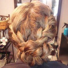 Bridal hair by Amy Alesia 4436748160 www.pinupsalongirl.com