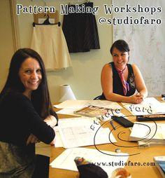 Basic Pattern Making workshops at Studio Faro.