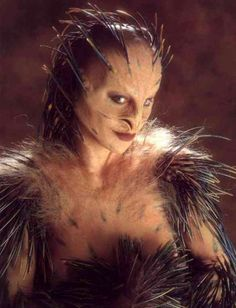 Shuna Sassi.  Nightbreed.  Read review of Clive Barker's Cabal.  http://lilywight.com/2013/02/21/clive-barker-cabal-nightbreed-directors-cut/