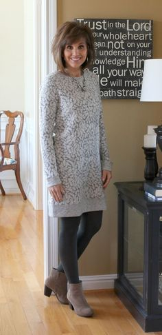 f1cd94595e7 31 Days Of Winter Fashion-Day 21. Sweater Dress ...