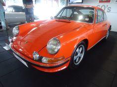 Beautiful Orange Porsche 911, Goodwood '11