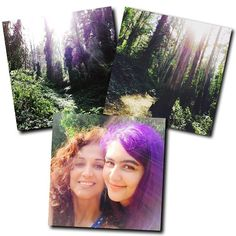 Once upon a last year ago my hair was brown and long and the girl was a purple-haired teen. . And we hiked. In the city. Because, yes, this is San Francisco! . #TheCity #City #Urban #Hike #MtSutro #UCSF #Lush #Nature #FairyGates #SF #SanFrancisco #Realtor #RealEstate #ColdwellBanker #Tbt