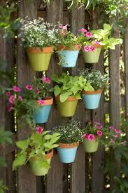 Fence of pots