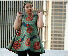 African Print Dresses, African Print Fashion, African Fashion Dresses, African Dress, Fashion Outfits, African Blouses, African Tops, African Attire, African Wear