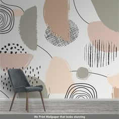 Vinyl Wallpaper, Self Adhesive Wallpaper, Peel And Stick Wallpaper, Leaves Wallpaper, Geometric Wallpaper, How To Install Wallpaper, Smooth Walls, Traditional Wallpaper, Easy Install