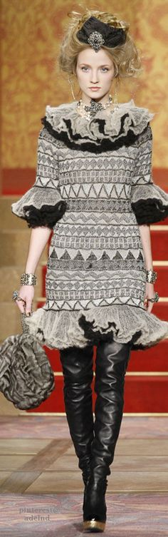 Chanel--This frumpy outfit is what Chanel has come to!!