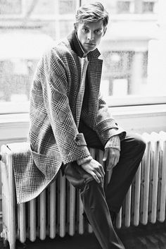 Menswear | ledomsh:   Janis Ancens by Lachlan Bailey
