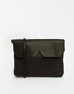 Pull&Bear Clutch in Geometric Cut Out Squares