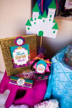 FROZEN Party WELCOME Sign Frozen Birthday by KROWNKREATIONS