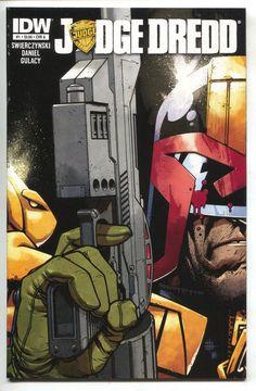 Judge Dredd 1 A IDW 2012 NM- Zach Howard Duane Swierczynski 2000 AD