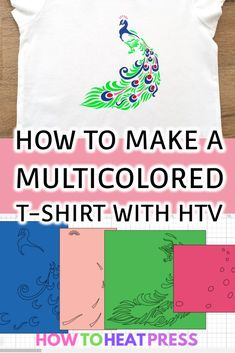 How To Cut Multiple Colors With Cricut Design Space Multicolored HTV design projects are so much fun! However, separating colors in Cricut Design Space can be tricky. The main thing you need to know is. Cricut Heat Transfer Vinyl, Iron On Cricut, Cricut Iron On Vinyl, Cricut Htv, Cricut Apps, Vinyl Projects, Design Projects, Htv Vinyl Ideas, Classroom Projects