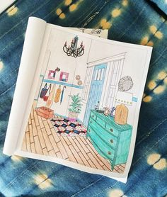 The Inspired Room Coloring Book - Photo by A Designer At Home