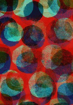 Textured Circles by Sarah Bagshaw