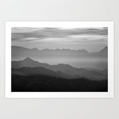 Buy Misty mountains by Guido Montañés as a high quality Art Print. Worldwide shipping available at Society6.com. Just one of millions of products…