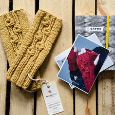 What about warm and cozy mittens made with merino wool? We love them!