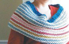 Free pattern for Confetti wrap by Megan Delorme