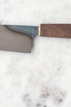 Hohenmoorer Y2 Monostahl is a contemporary, hand-forged chef's knife.