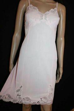 Satin Lingerie, Pretty Lingerie, Vintage Lingerie, Women Lingerie, Dirndl Dress, Barbie Dress, Pink Barbie, Satin Slip, Silk Slip