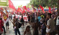 Várias cidades têm manifestações contra e a favor de Lula