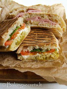 Baking Secrets: Panini sumuštiniai / Paninis in Two Ways