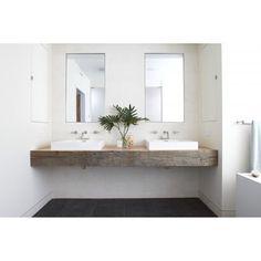 Love this bathroom's basin