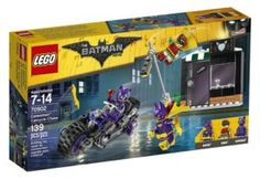 LEGO Batman Movie Catwoman Catcycle Chase 70902 for children ages 8-14.