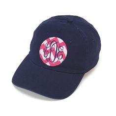 Monogram Applique Cap | $24 | jewelboxonline.com