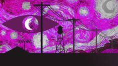 Welcome to Night Vale / Starry Night Van Gogh Desktop Wallpaper OH MY GLOW CLOUD OH MY GLOW CLOUD