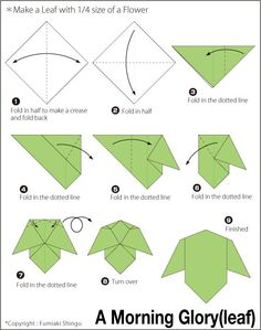 origami ginkgo leaf instruction - StartPage by Ixquick Picture Search