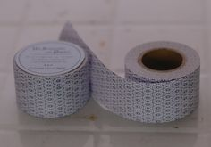 This is a roll of Japanese Water Activated Paper Tape - the concept is taken from security envelope pattern. These water activated paper tape are great for putting together packets of your handmade goods, use them for craft projects, use it as labels, gift wrap / packaging, scrapbooking - it's just so pretty, it'll make anything pop!Just wet the part you want to stick together...Listing is for the red one - other pictures are just to show usage and other patterns.***th...