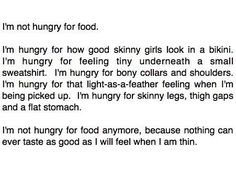 Thinspo  I'm not a huge fan of how pro-ana this is but for me, as someone in a pretty healthy place with an awareness of my limits, it's quite motivational.