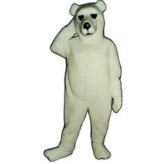 231-Z Alaskan Bear - Team-Mascots.  See more polar bear mascot costumes at:  http://www.team-mascots.com/bear-mascot-costumes/polar-231