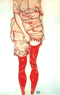 Probably my favorite Egon Schiele piece