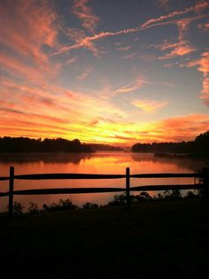 Fall sunrise in the Northern Neck of Virginia