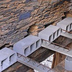 Conseils pratiques bricolage sur Monter un plancher hourdis sur poutrelles manuportables (Revêtements de sols)
